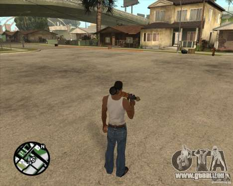 RiCkys Rocket Launcher pour GTA San Andreas quatrième écran