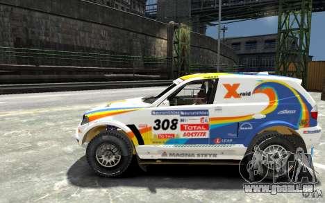 BMW X3 CC DAKAR pour GTA 4 est une gauche
