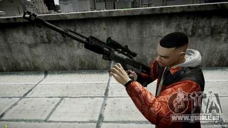 Accuracy International AS50 für GTA 4 dritte Screenshot