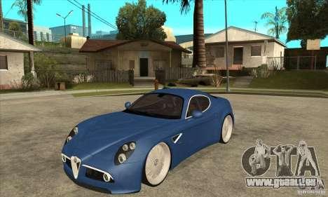 Alfa Romeo 8C Competizione für GTA San Andreas