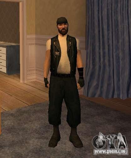 Nouveaux skins Bikers pour GTA San Andreas huitième écran