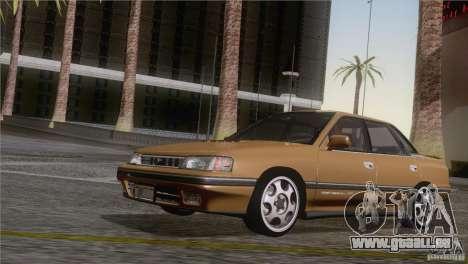 Subaru Legacy RS pour GTA San Andreas sur la vue arrière gauche