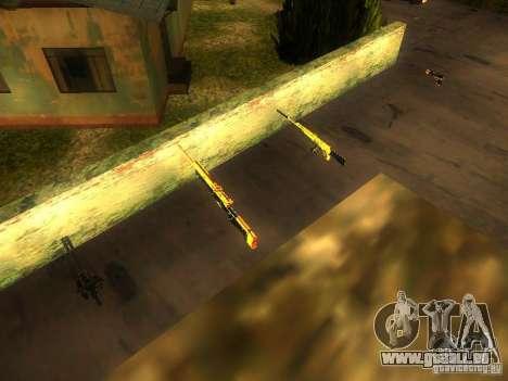 Armes sur Grove Street pour GTA San Andreas septième écran