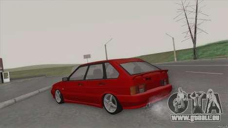 ВАЗ 2114 DROP pour GTA San Andreas sur la vue arrière gauche