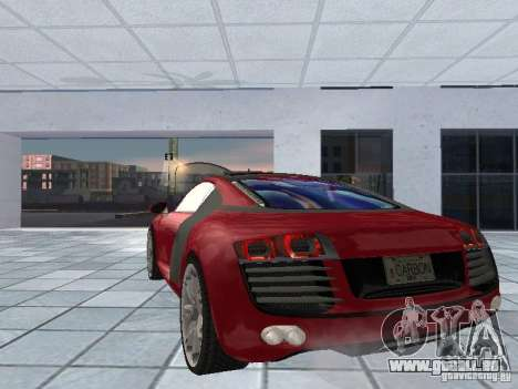 Audi Le Mans Quattro pour GTA San Andreas sur la vue arrière gauche
