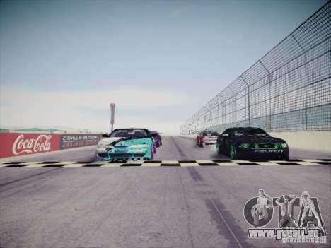 Nissan Silvia S14 Matt Powers 2011 pour GTA San Andreas vue de dessous