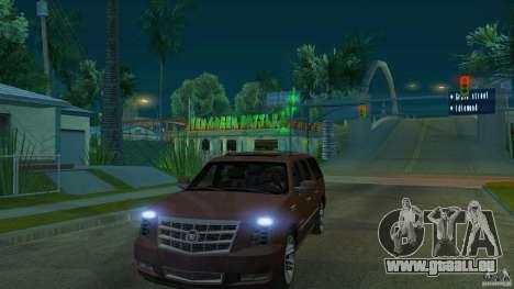 Cadillac Escalade ESV 2012 pour GTA San Andreas