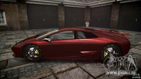 Lamborghini Murcielago v1.0b für GTA 4 Innenansicht