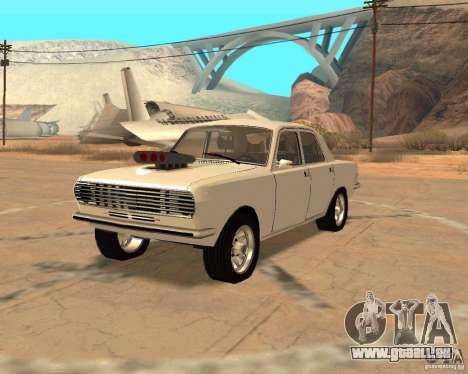 GAZ Volga 2410 Hot Road pour GTA San Andreas vue de droite