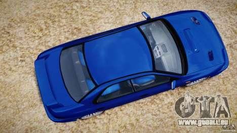 Subaru Impreza WRX STI 1999 v1.0 pour GTA 4 est un droit