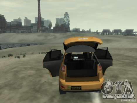 Lexus RX400 New York Taxi pour GTA 4 Salon