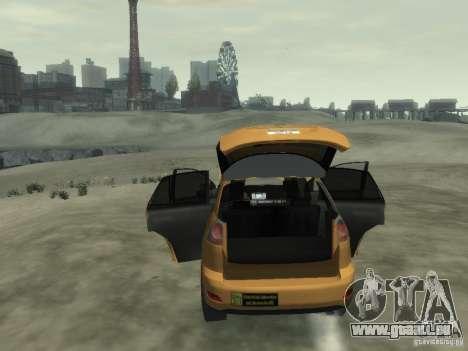 Lexus RX400 New York Taxi für GTA 4 Innen