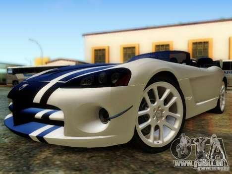 Dodge Viper SRT-10 Roadster ACR 2004 für GTA San Andreas Seitenansicht