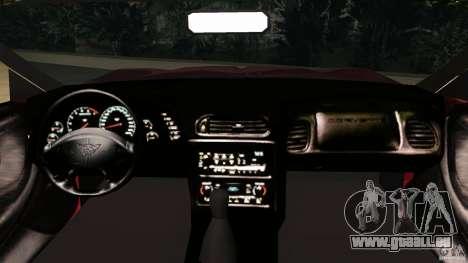 Chevrolet Corvette Z05 pour une vue GTA Vice City de la droite