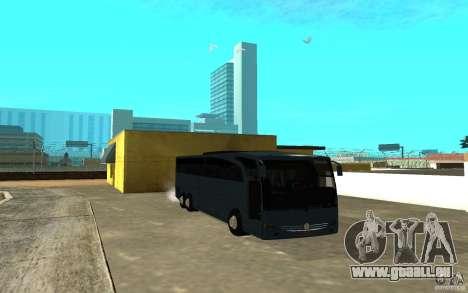 Mercedes-Benz Travego für GTA San Andreas linke Ansicht