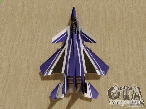F-15 SMTD pour GTA San Andreas vue arrière