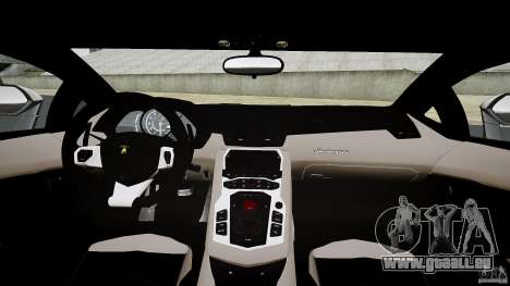 Lamborghini Aventador LP700-4 [EPM] 2012 für GTA 4 obere Ansicht