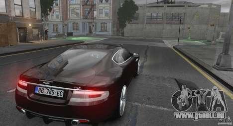 Aston Martin DBS v1.0 für GTA 4 rechte Ansicht