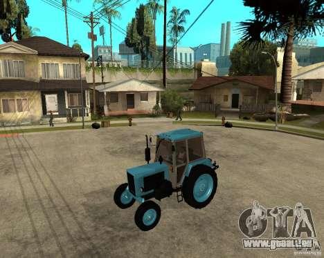 Traktor Belarus 80.1 und trailer für GTA San Andreas