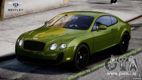Bentley Continental SS 2010 Suitcase Croco [EPM] für GTA 4