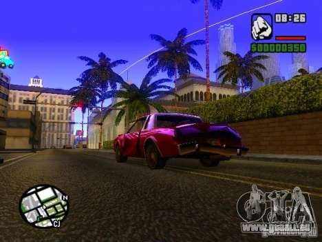 Timecyc BETA 2.0 pour GTA San Andreas deuxième écran
