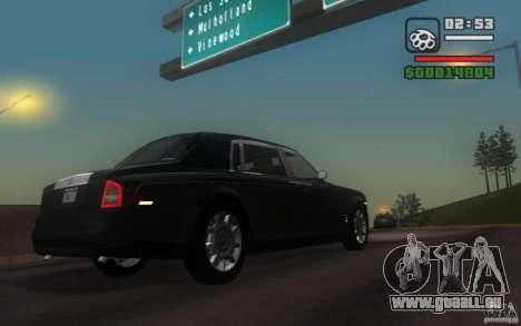 Rolls-Royce Phantom EWB pour GTA San Andreas vue de droite