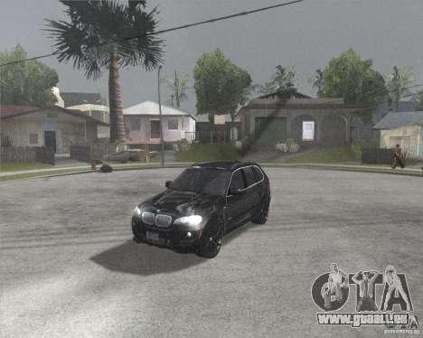 BMW X5 2009 Tune pour GTA San Andreas