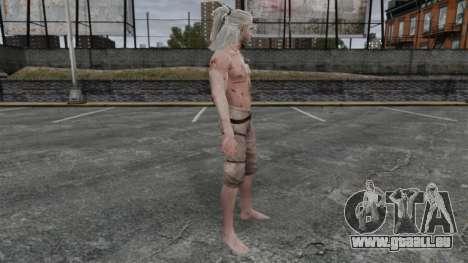 Geralt von Riva v5 für GTA 4 Sekunden Bildschirm