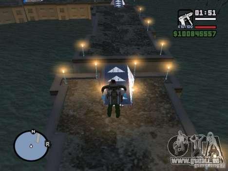 Night moto track pour GTA San Andreas septième écran