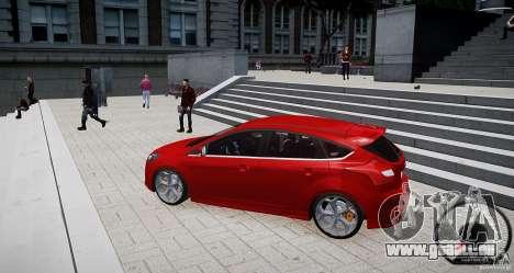Ford Focus ST 2012 für GTA 4 linke Ansicht