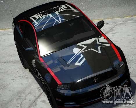 Ford Mustang Boss 302 pour GTA 4 est un droit