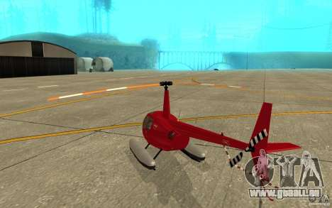 Robinson R44 Clipper II 1.0 für GTA San Andreas rechten Ansicht
