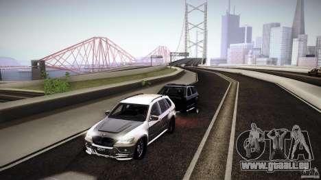 BMW X5 with Wagon BEAM Tuning für GTA San Andreas rechten Ansicht
