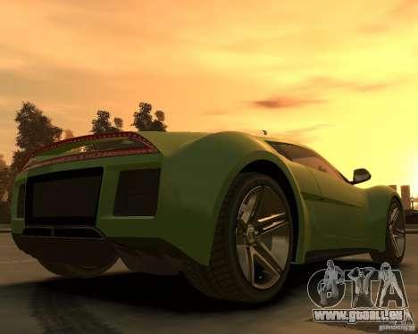 2010 Saleen S5S Raptor pour GTA 4 Vue arrière de la gauche