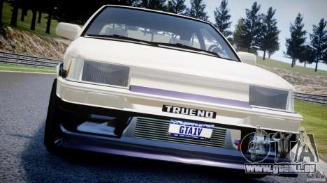 Toyota AE86 TRUENO Initial D pour le moteur de GTA 4