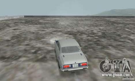Isuzu Bellett GT-R pour GTA San Andreas laissé vue