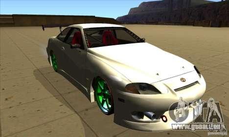 Toyota Soarer pour GTA San Andreas vue arrière