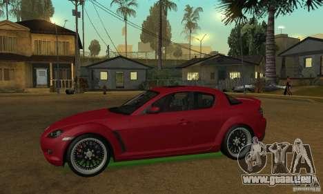 Les néons verts pour GTA San Andreas quatrième écran