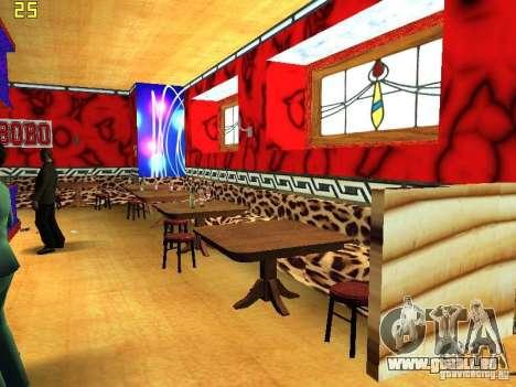 New Bar Ganton v.1.0 pour GTA San Andreas quatrième écran
