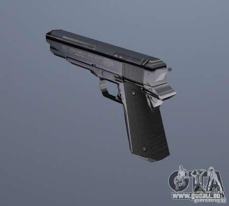 Le nouveau pistolet pour GTA Vice City