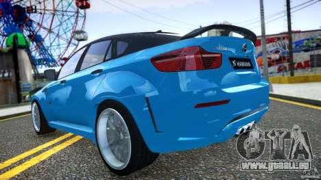 BMW X 6 Hamann pour GTA 4 est un côté