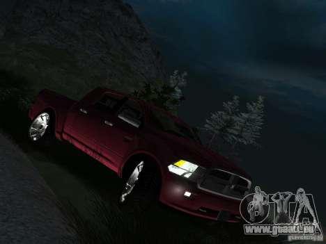 Dodge Ram 1500 Longhorn 2012 für GTA San Andreas rechten Ansicht
