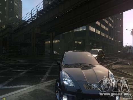 Toyota Celica pour GTA 4 Vue arrière