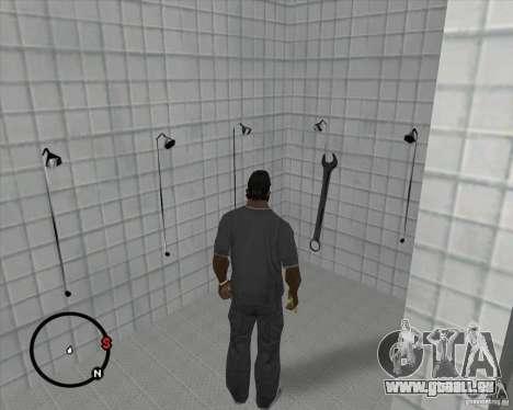 Schraubenschlüssel für GTA San Andreas zweiten Screenshot