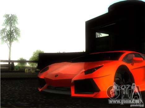 Lamborghini Aventador LP700 pour GTA San Andreas