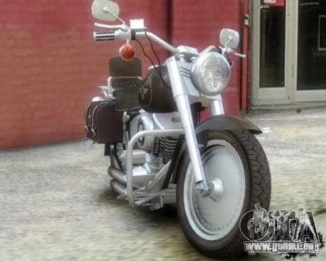 Harley Davidson FLSTF Fat Boy pour GTA 4