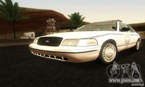 Ford Crown Victoria Ohio Police pour GTA San Andreas