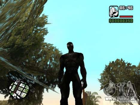 Spiderman Feind in Reflexion für GTA San Andreas zweiten Screenshot