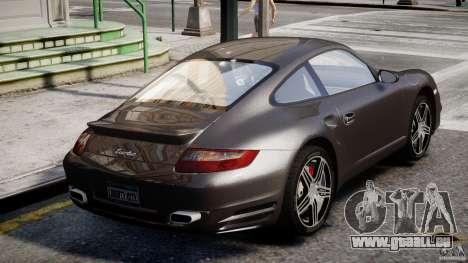 Porsche 911 Turbo für GTA 4 Unteransicht