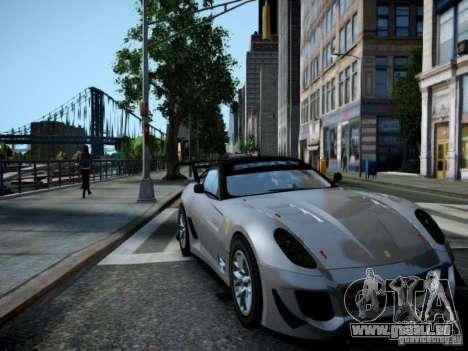 Ferrari 599xx 2012 pour GTA 4 est un droit